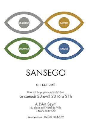 Flyer Sansego